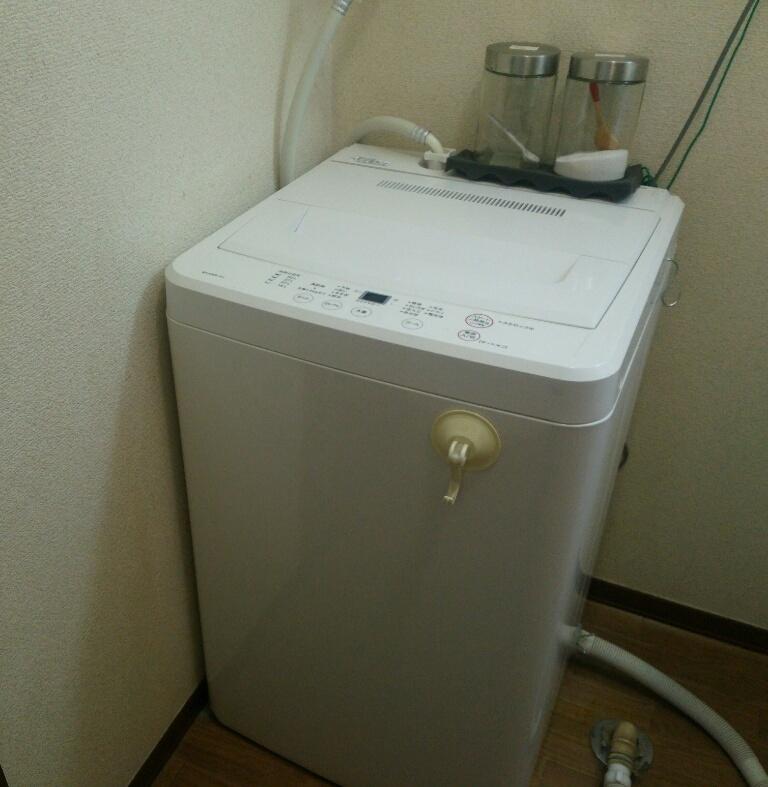無印良品 洗濯機6K画像