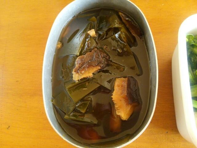 今週の常備菜 昆布とと椎茸の甘辛煮の画像