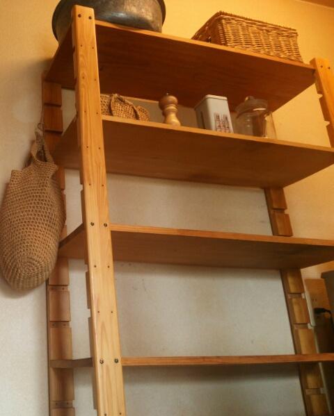 キッチンの棚画像