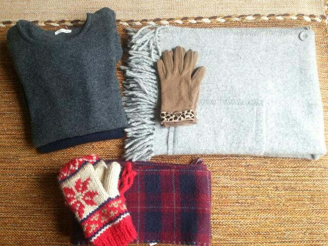 自宅でクリーニングした冬モノ衣類画像
