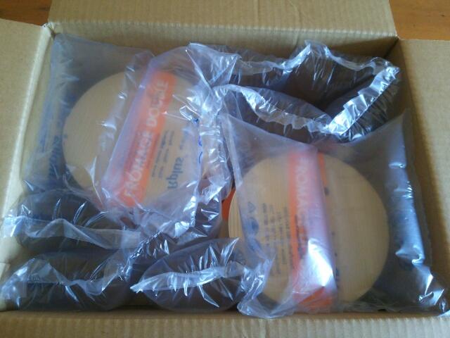ルタオ チーズケーキ ドゥーブルフロマージュ冷凍便 梱包画像