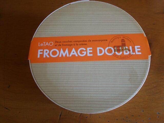 ルタオ チーズケーキ ドゥーブルフロマージュ画像