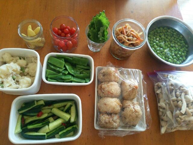 今週の常備菜と下ごしらえ 2016年5月22日画像