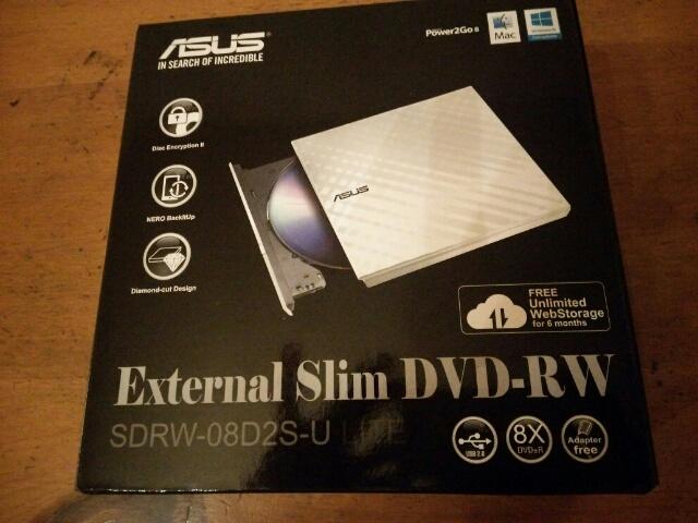 ASUS DVDドライブ画像