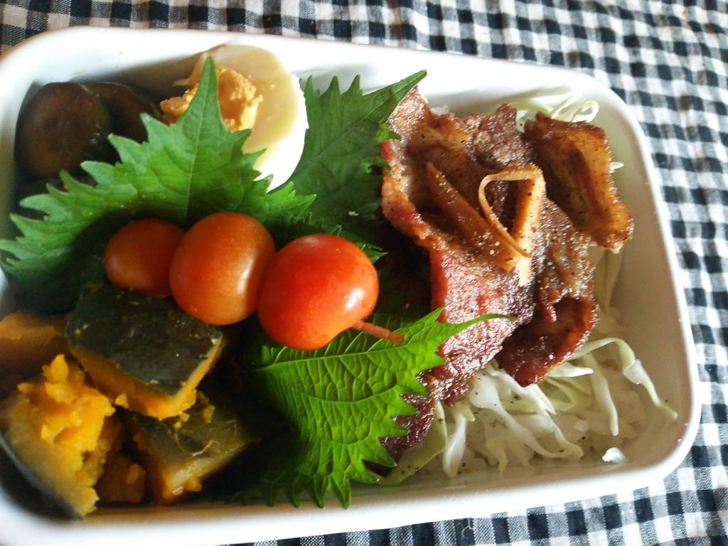 豚肉の生姜焼き丼弁当画像