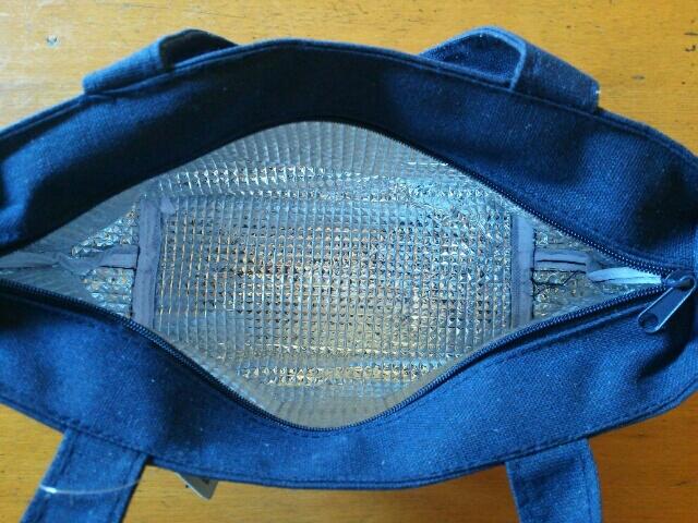 イルーシー300の保冷バッグの中画像