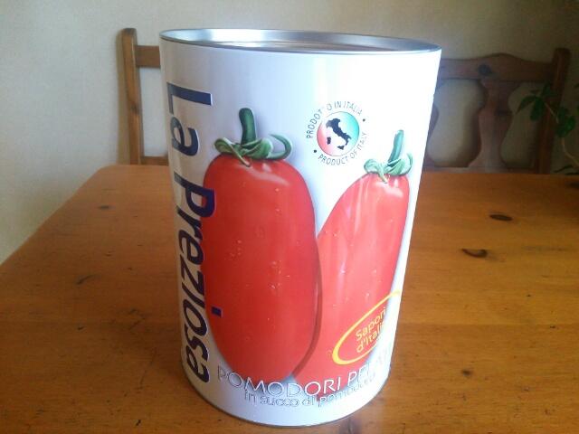 カルディー ビッグサイズトマト缶画像