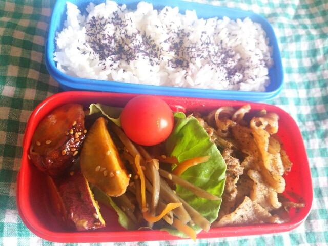 肉野菜炒め弁当画像