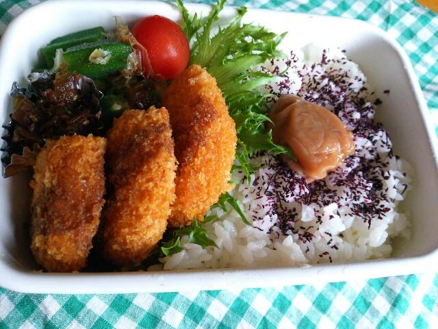 お惣菜お惣菜のコロッケ弁当画像