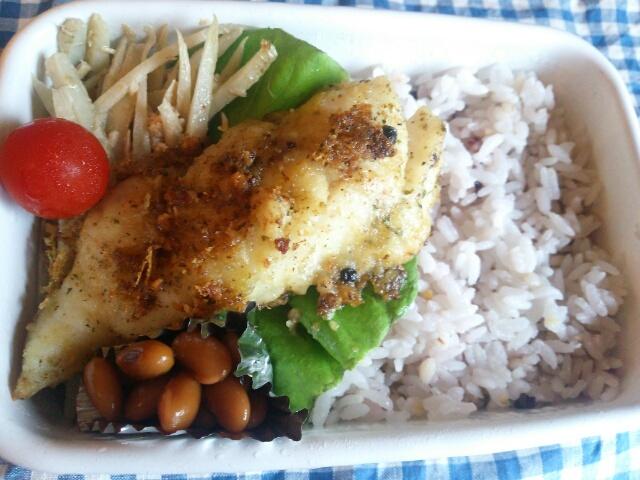 鱈の大葉ソース焼き弁当画像