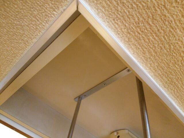 大掃除してキレイになったキッチンの壁と天井画像