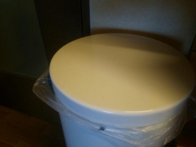 ブラバンシア 白いごみ箱30L画像