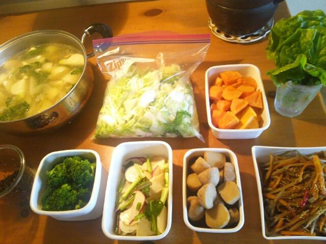 今週の常備菜と下ごしらえ【2016年11月22日】画像