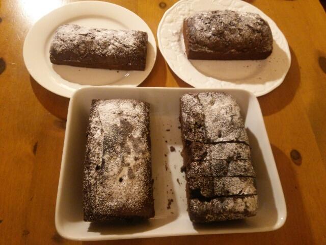 チョコパウンドケーキ 4本