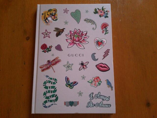 雑誌Numeroの付録 グッチのノートブック
