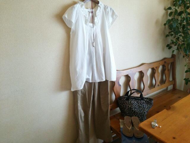 40代ファッション 今日のシンプルコーディネート