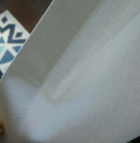 無印良品 コットン100%カーテンの生地