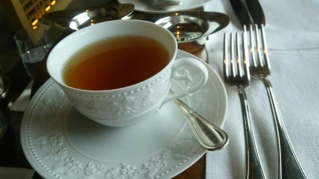 リッツカールトン京都 アフタヌーンティー 紅茶