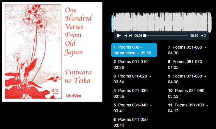 One Hundred Verses from Old Japan : Free Download & Streaming