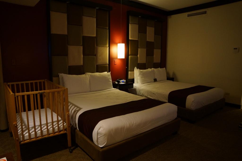 アウトリガーホテル部屋