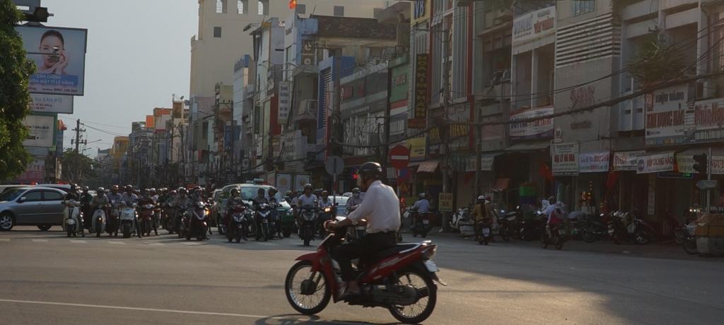 ベトナムのバイク