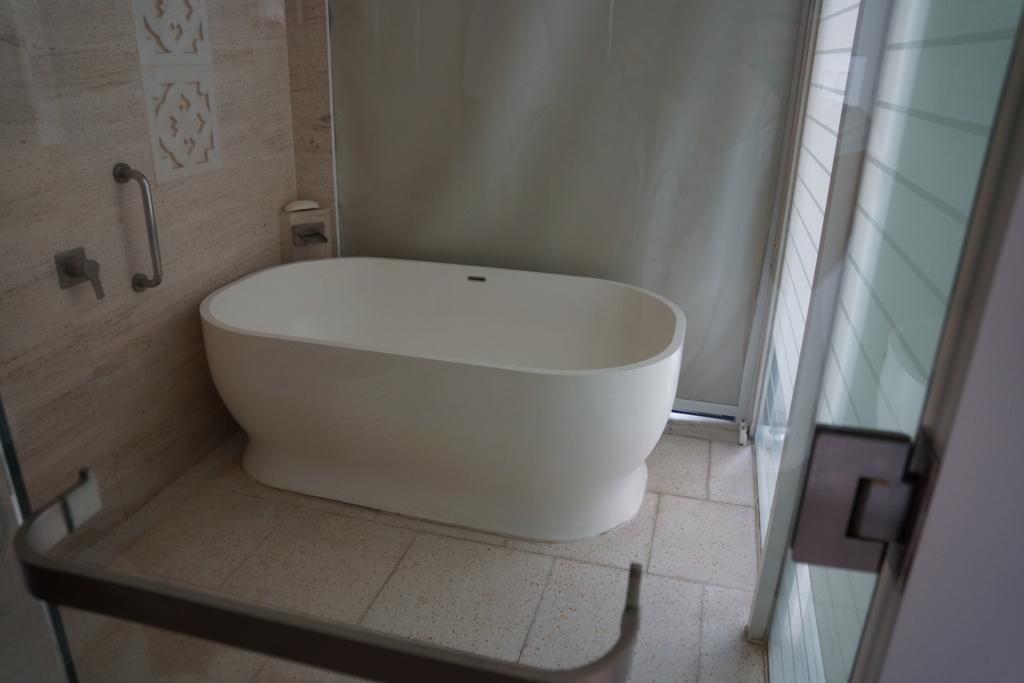 ダナン ハイアットリージェンシーのお風呂