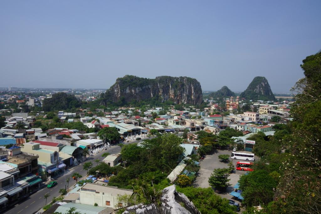 五行山からの眺め