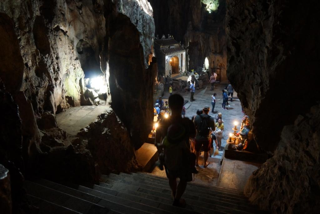 五行山の洞窟の中
