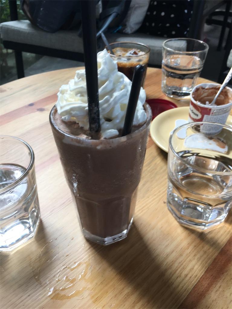 スーベニアカフェのカフェモカ