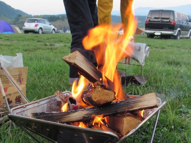 焚き火台 冬キャンプ ソロキャンプ