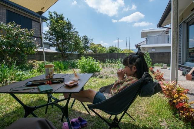 庭キャンプ 家キャンプ おうちキャンプ 楽しみ方