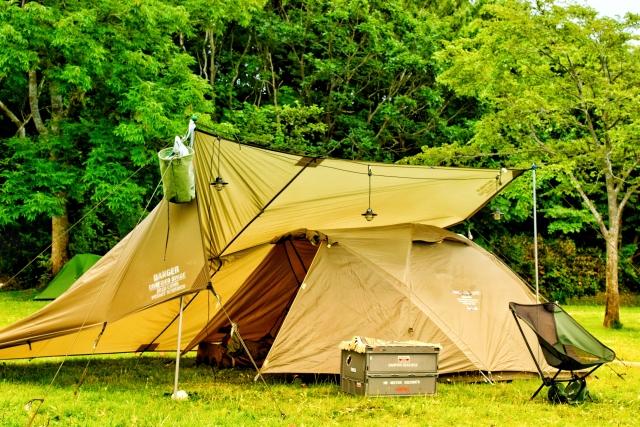 ソロキャンプ タープ おすすめ 人気 メリット
