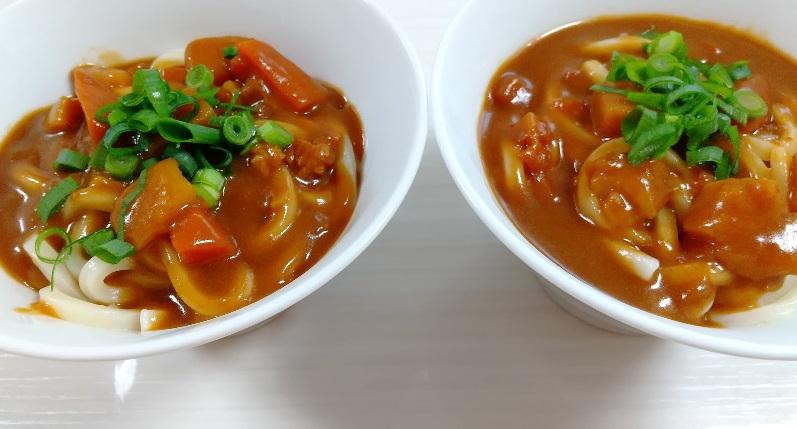 カレーうどん 時短レシピ 簡単 お昼ご飯 節約