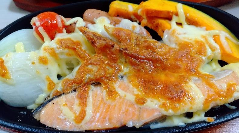 グリル 調理 晩ご飯 魚