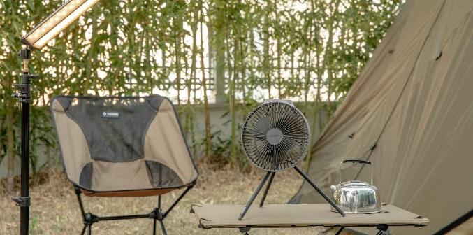 CLAYMORE FAN V600 夏キャンプ 暑さ対策