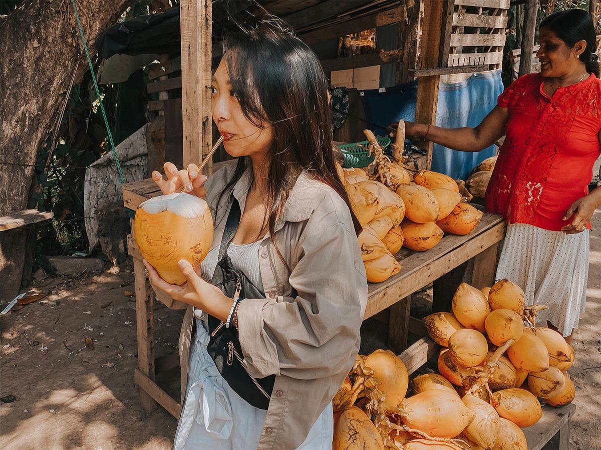 スリランカのココナッツドリンク