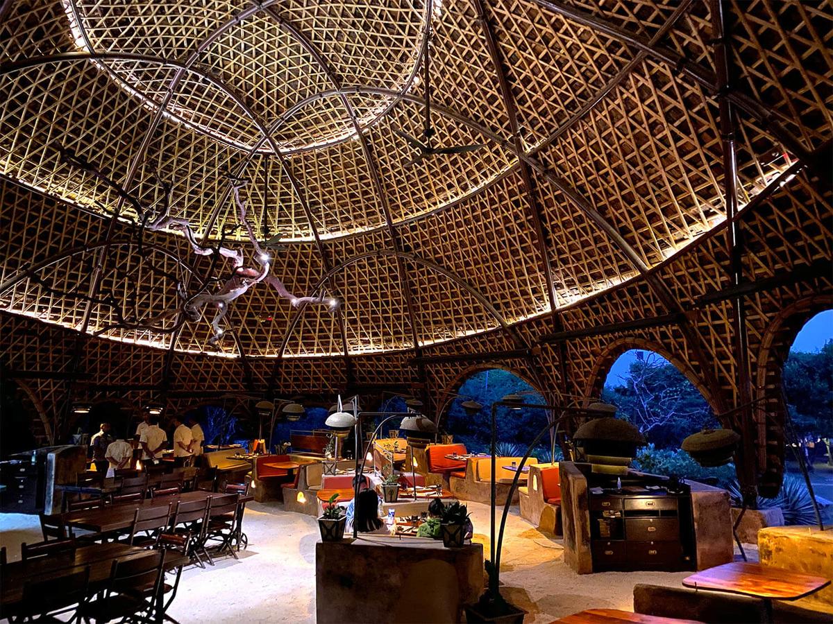 スリランカのサファリの中にあるホテル