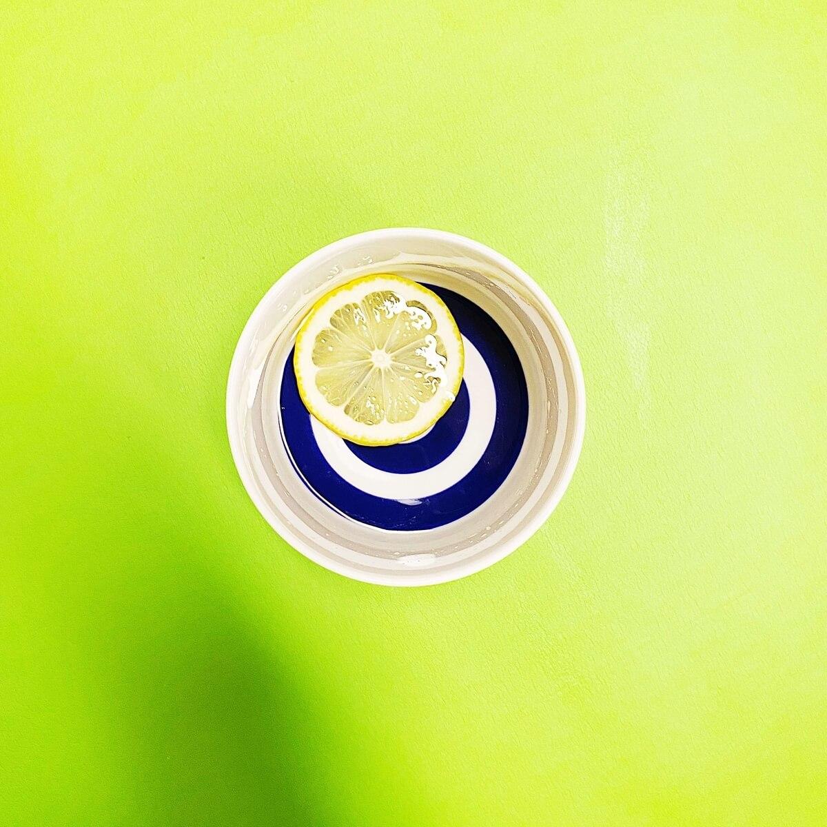 日本酒レモン