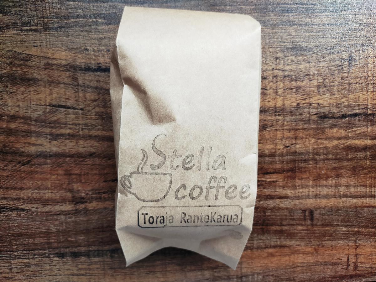 Stella coffeeトラジャ ランテカルアのレビュー