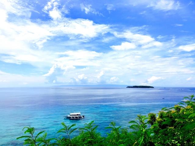 セブ島の海
