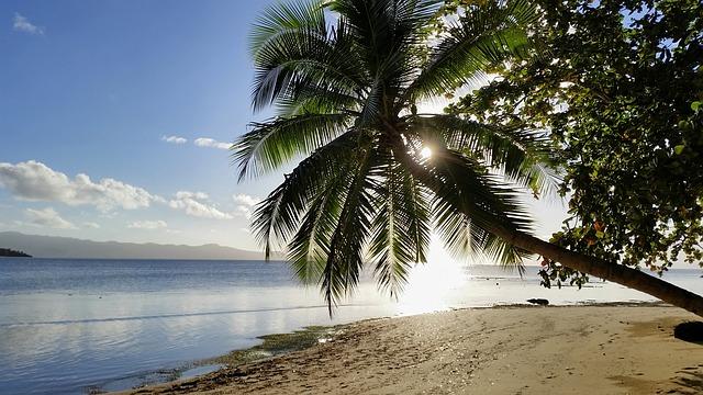 フィジーのビーチ