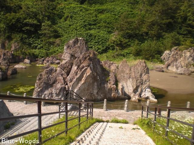 20150619 ライオン岩公園(中泊町小泊長坂)