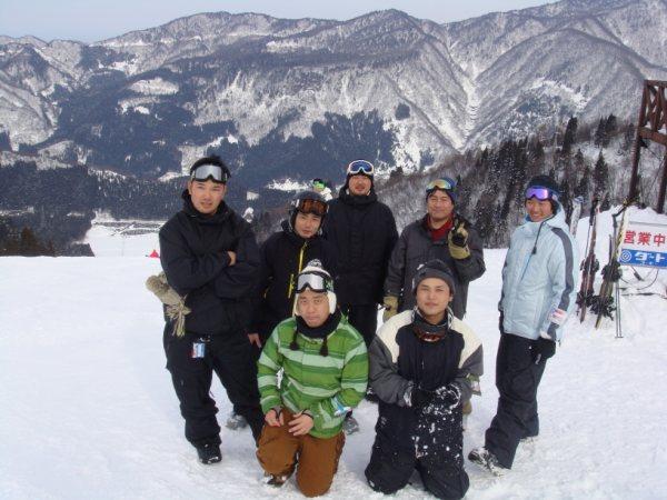 2009年1月頃スキー場にて