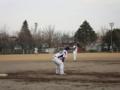 2011年3月6日vs富山大学軟式野球部