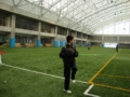 2012年2月25日:アイザックスポーツドームにて練習