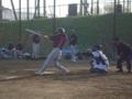 2013年4月28日vsNS野球団:MVP杯1回戦