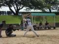 2013年7月15日vs富山レジェンド:サンデーカップ決勝トーナメント1回