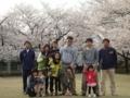 2014年4月13日:五福公園にて花見