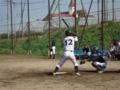 2014年9月27日vs富山大学軟式野球部