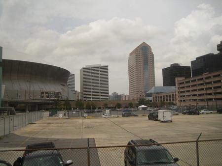 ニューオーリンズは都会だ